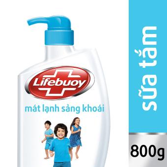 Sữa tắm Lifebuoy mát lạnh sảng khoái 850g