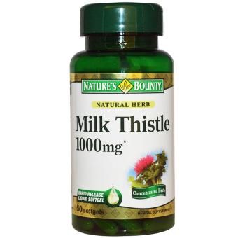 Viên uống hỗ trợ chức năng gan NATURE'S BOUNTY Silymarin Milk Thistle 50 viên
