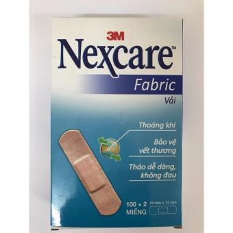 Hộp 102 băng keo cá nhân 3M Nexcare Vải