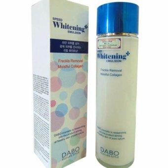 Sữa dưỡng thể trắng da DABO Whitening Emulsion