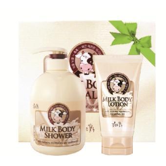 Bộ Milk Body Care tắm,dưỡng thể Hàn Quốc