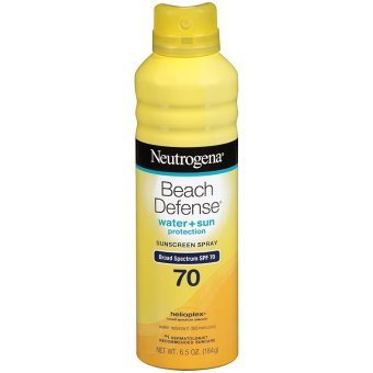 Xịt chống nắng Neutrogena Beach Defense Spray Sunscreen Broad Spectrum SPF 70 184g