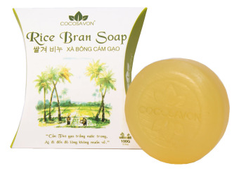 Xà bông Cám Gạo Cocosavon 100gr (Xà bông Cô Ba)