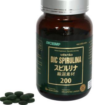Viên uống Tảo Nhật Bản Dic Spirulina tăng cường sức khỏe