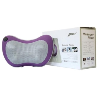 Gối massage hồng ngoại Magic Energy pillow PL-819 (Tím)