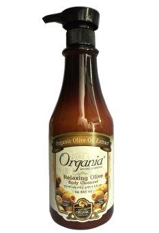Sữa tắm thư giãn từ Olive - ORGANIA RELAXING OLIVE BODY CLEANSER 750ml