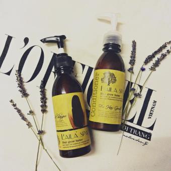 Bộ Dầu Gội Và Dầu Xả Thảo Mộc Kích Thích Mọc Tóc Laila Spa Hair Grow Faster Shampoo & Conditioner 200ml X2