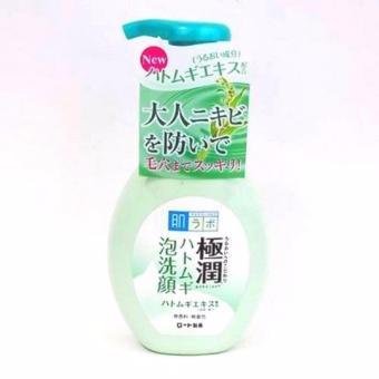 Sữa rửa mặt tạo bọt Hada Labo Gokujyun Hatomugi Bubble Face Wash 160ml