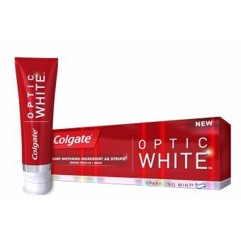Kem Đánh Răng trắng răng Colgate Optic White 141gr Mỹ