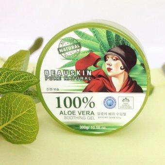 Gel dưỡng da đa năng chiết xuất 100% Lô hội Aloevera Soothing 300g