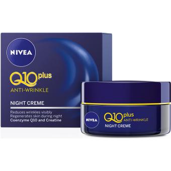 Kem dưỡng giảm nếp nhăn ban đêm NIVEA Q10 PLUS SPF15 50ml
