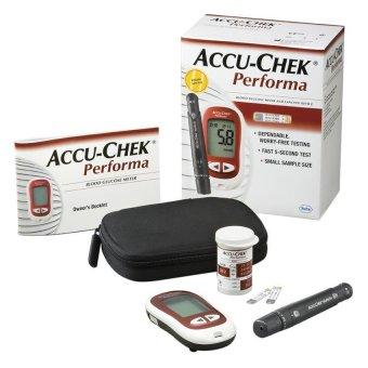 Máy đo đường huyết Roche Accu Chek Active Performa (Đỏ)