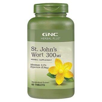Viên uống thảo dược GNC ST JOHN'S WORT 300MG 60 viên.