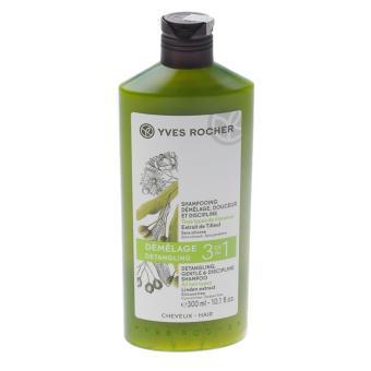 Dầu gội 3 trong 1 cho tóc suôn mượt và không rối Yves Rocher DETANGLING BODY ANS SHINE SHAMPOO 300 ML BOTTLE