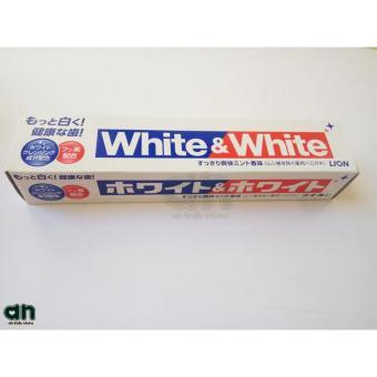 Kem đánh răng White And White Lion nội địa Nhật Bản 150g