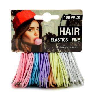 Bộ 100 Dây cột tóc UBL (color)