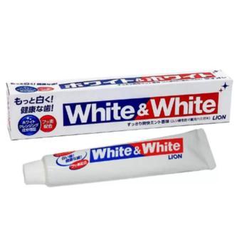 Kem đánh răng người lớn White & White 150g (Japan)
