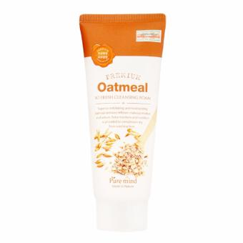 Sữa rửa mặt Yến Mạch Pure Mind Premium Oatmeal Cleaning Foam 100 ml