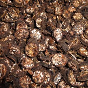 Chuối Hột Rừng Xanh, Cắt Lát, Sấy Khô 1kg