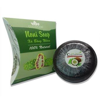 Xà bông trái nhàu cocosavon noni soap 100% natural 100g