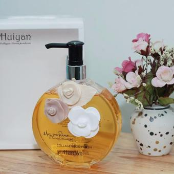 Sữa tắm hương nước hoa Huiyan Pháp 400ml hương thơm quyến rũ Macco Mart