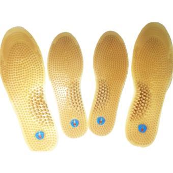 chống hôi chân, miếng lót giày massage Nam và nữ, sizes name 41-45 size Nữ 35-40 combo