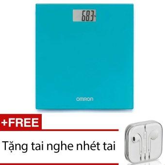 Cân sức khoẻ điện tử Omron HN-289 (Xanh) + Tặng 1 tai nghe nhét tai