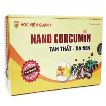Nano cucumin tam thất xạ đen