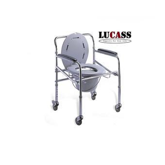 Ghế bô vệ sinh có bánh xe cho người già,người khuyết tật Lucass GX300