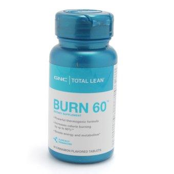 Viên uống giảm cân GNC BURN 60 W/ CINNAMON 60 viên