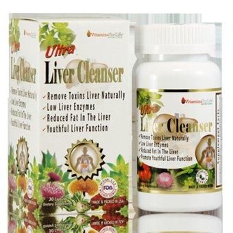 Giải độc gan Ultra Liver Cleanser 30 viên