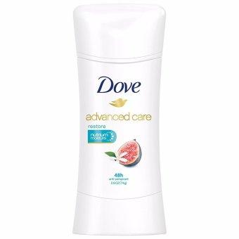 Lăn khử mùi nữ dạng sáp Dove Advanced Care Antiperspirant Deodorant Restore 74g