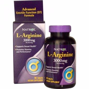 Thực phẩm hỗ trợ sinh lý nam giới L-Arginine 3000mg
