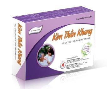 Thực phẩm chức năng Kim Thần Khang 30 viên-hỗ trợ điều trị Suy nhược thần kinh, mất ngủ, trầm cảm