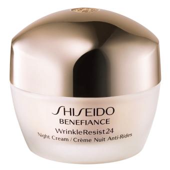 Kem dưỡng da ban đêm giúp cải thiện nếp nhăn cho da khô đến rất khô Shiseido Benefiance Wrinkleresist24 Night Cream 50ml