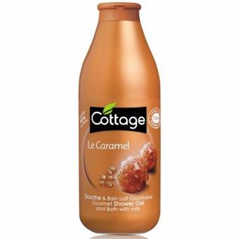 Sữa tắm dưỡng da hương Caramen COTTAGE Le Caramel 750ml