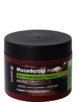 Kem Ủ Phục Hồi Tóc Yếu Chiết Xuất Từ Hạt Macadamia Dr.Sante 300ml