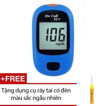 Máy đo đường huyết Acon On call EZ II + Tặng dụng cụ ráy tai có đèn màu sắc ngẫu nhiên