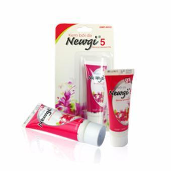 Bộ 3 sản phẩm kem trị mụn NEWGI 5 điều trị hiệu quả các loại mụn đầu đen mụn bọc mụn mủ 6g