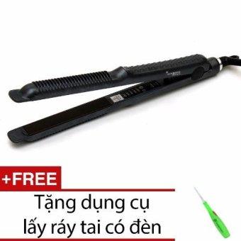 Máy duỗi tóc 838 + Tặng dụng cụ lấy ráy tai có đèn(White)