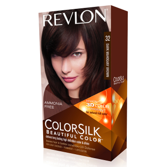 Thuốc nhuộm tóc REVLON COLORSILK - 32 DARK MAHAGANY BROWN