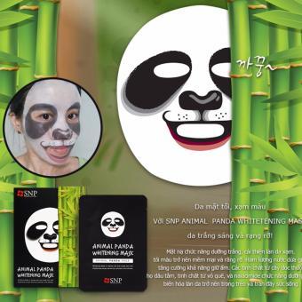 Mặt nạ hình Gấu SNP Animal Panda Whitening Mask