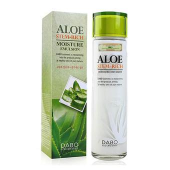 Nhũ dưỡng thể DABO ALOE STEM-RICH Emulsion 150ml Macco Mart