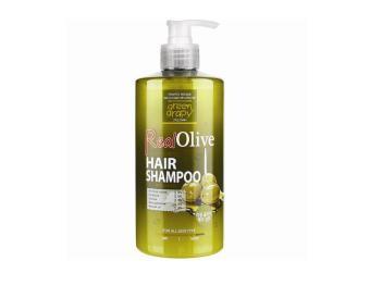 Dầu gội siêu mượt tinh chất olive GREEN GRAPHY Real Olive Velvet Dress Hair Shampoo 500g