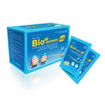 Cốm vi sinh Bio Acimin Gold - Tiêu hoá khoẻ, trẻ ăn ngon