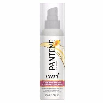 Bình xịt gel tạo hình tóc Pantene Pro-V Curly Hair Style Curl Enhancing Spray Hair Gel 170ml