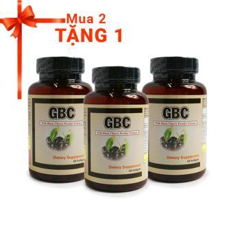 Bộ 2 Viên hỗ trợ, ngừa Gout GBC 60 viên + Tặng 1 sản phẩm cùng loại