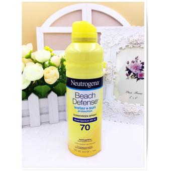 Xịt Chống Nắng Neutrogena Beach Defense Sunscreen Spray Broad Spectrum SPF 70 184g