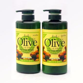 Bộ dầu gội và dầu xả Olive 800ml