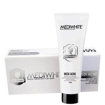Kem trị mụn, trắng da Medi White Medi Acne 15ml